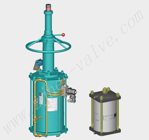 ST-系列直行程气动执行器